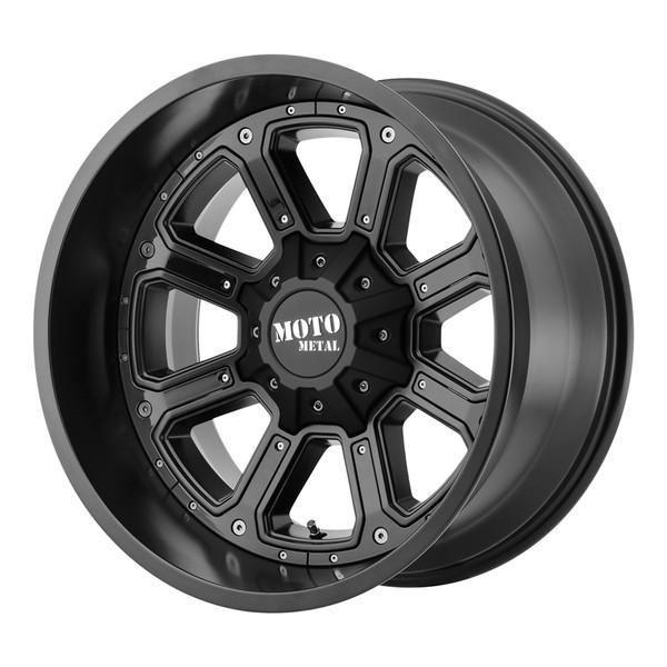 Moto Metal Matte Black Shift Wheels