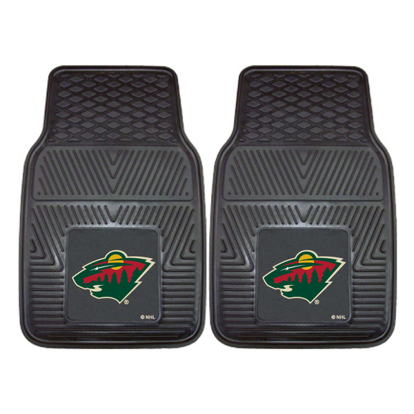 FanMats Minnesota Wild NHL 2pc Vinyl Car Mats