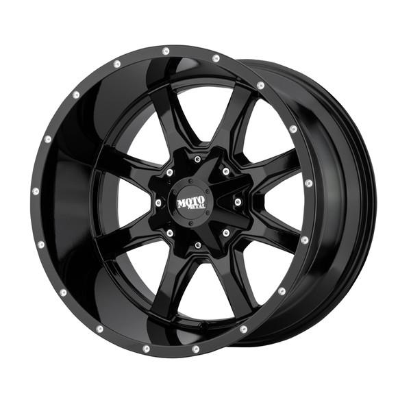 Moto Metal Milled Gloss Black MO970 Wheels