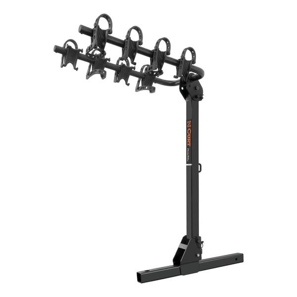 Towable Hitch-Mounted Bike Rack