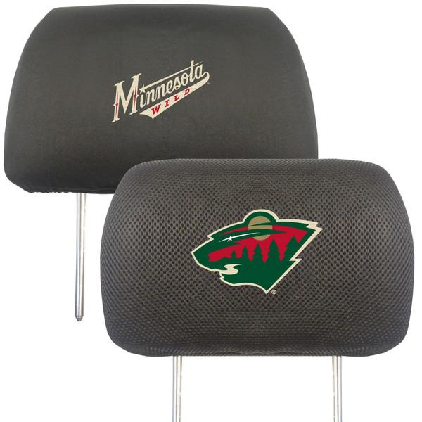 FanMats Minnesota Wild NHL Head Rest Cover