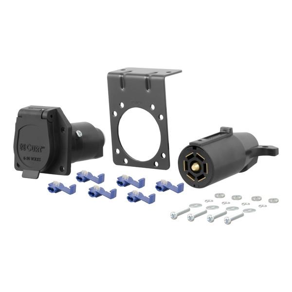 7-Way RV Blade Connector Plug and Socket Kit