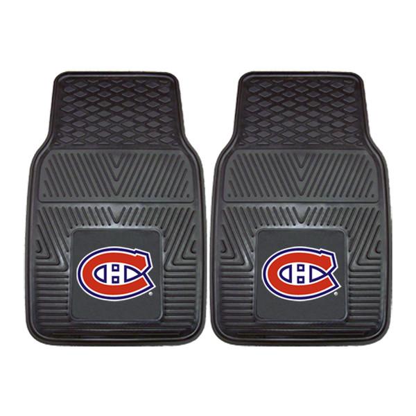 FanMats Montreal Canadiens NHL 2pc Vinyl Car Mats