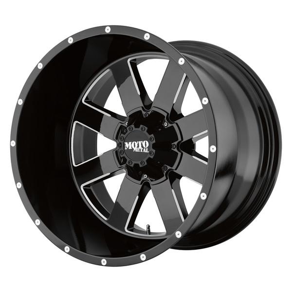 Moto Metal Milled Gloss Black MO962 Wheels
