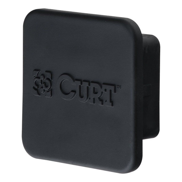 Black Rubber Hitch Tube Covers