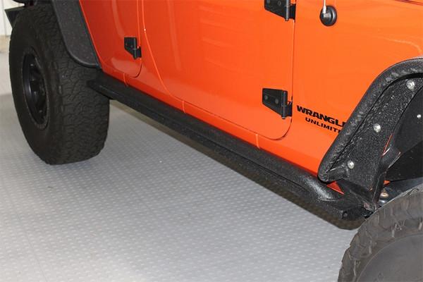 Jeep JK Rock Slider 07-17 Wrangler JK 4 Door Rubic