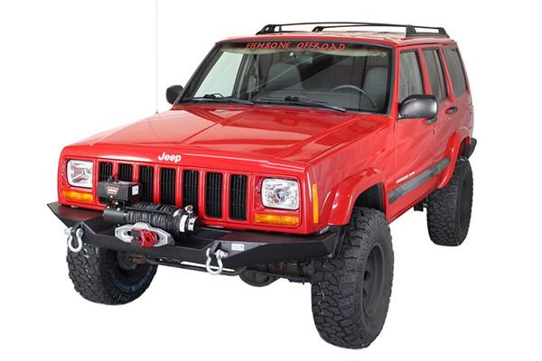 Cherokee XJ Front Winch Bumper W/O Grille Guard Bu