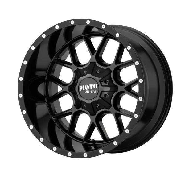 Moto Metal Gloss Black Siege Wheels