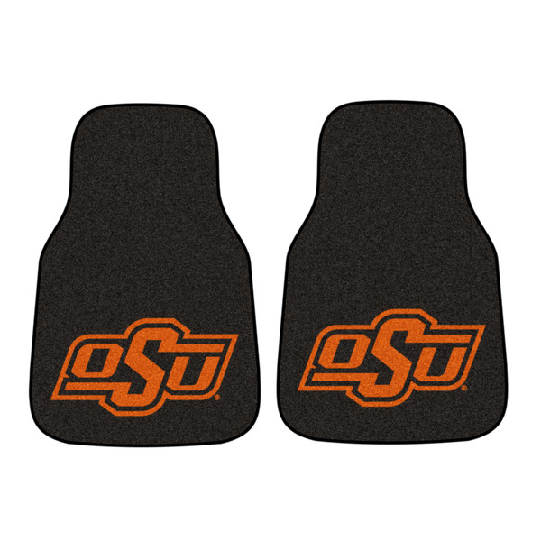 FanMats Oklahoma State 2pc Carpeted Car Mats