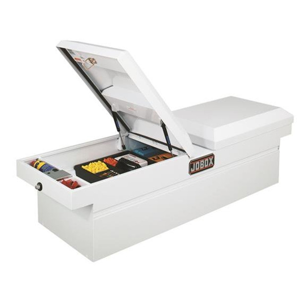 Gull Wing Dual Lid Steel Crossover Truck Tool Box