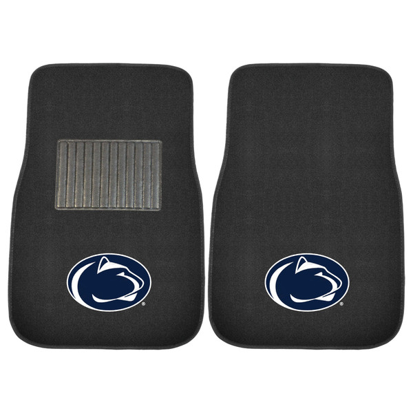 FanMats Penn State 2pc Embroidered Car Mats