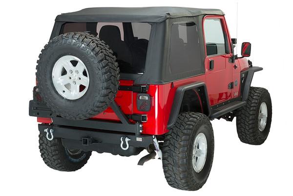 Jeep TJ/YJ Rear Bumper W/Tire Carrier 87-06 Wrangl