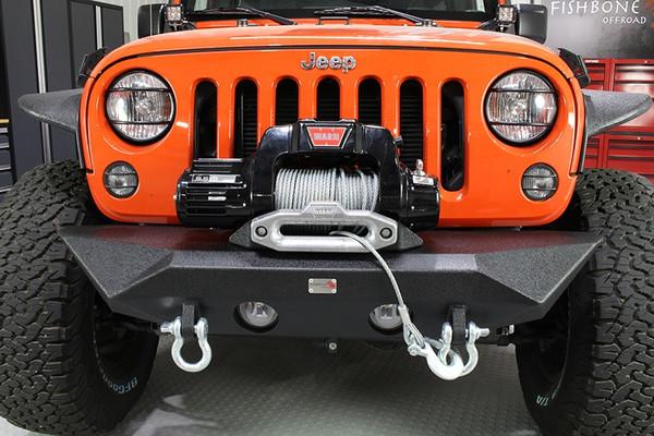 Jeep JK Front Bumper 07-17 Wrangler JK Rubicon and