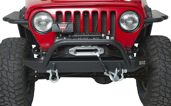Jeep TJ Front Bumper W/Winch Guard 97-06 Wrangler