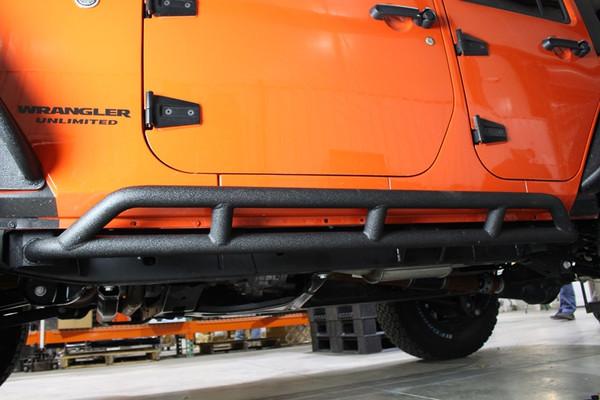Jeep JK Rock Sliders 4 Door 07-17 Wrangler JK Unli