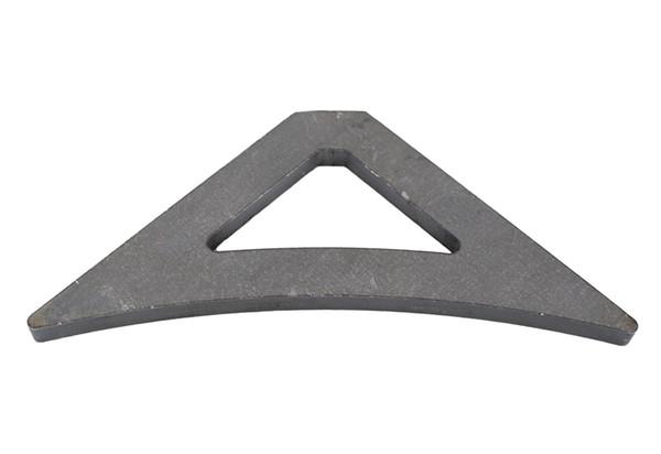 Jeep Gusset Triangular Bare Steel