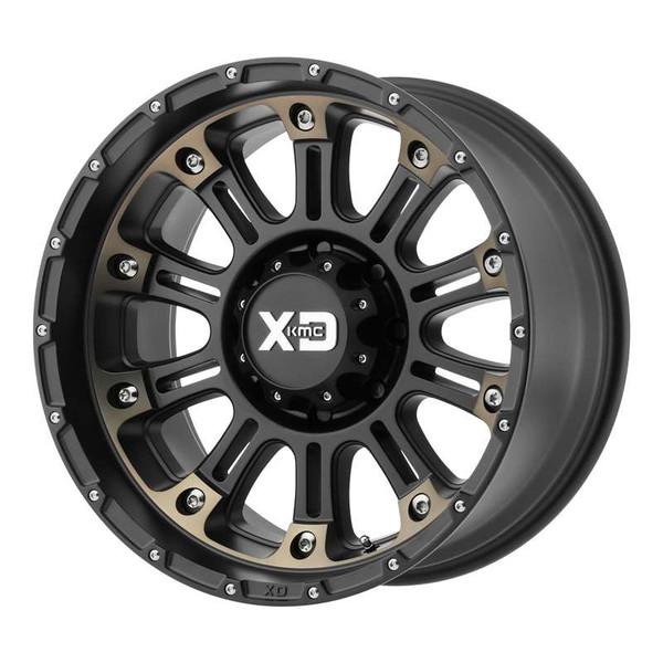 XD Series Hoss 2 Matte Black Wheels