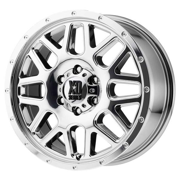 XD Series Grenade Chrome Wheels