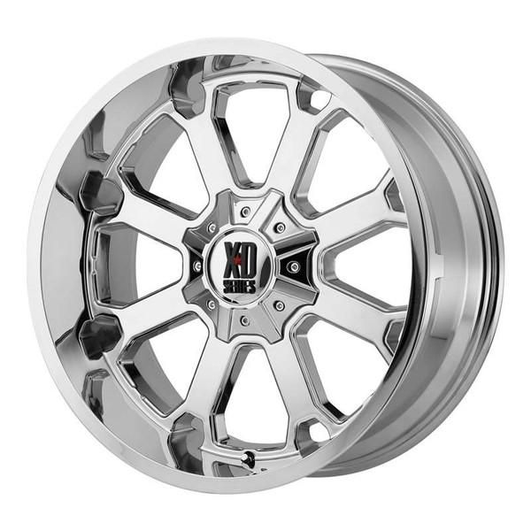 XD Series Buck 25 Chrome Wheels