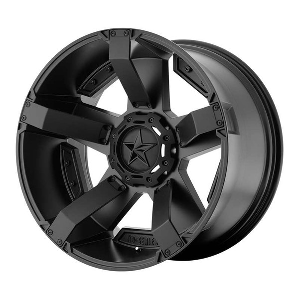 XD Series Rockstar II Matte Black Wheels