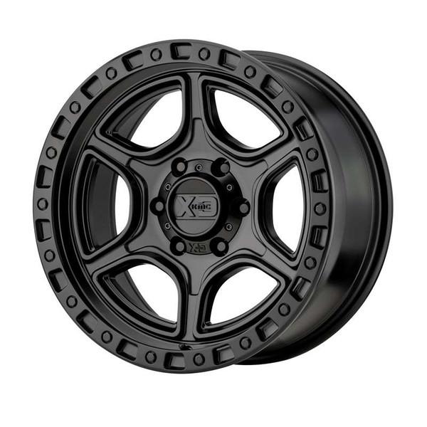 XD Series Portal Matte Black Wheels