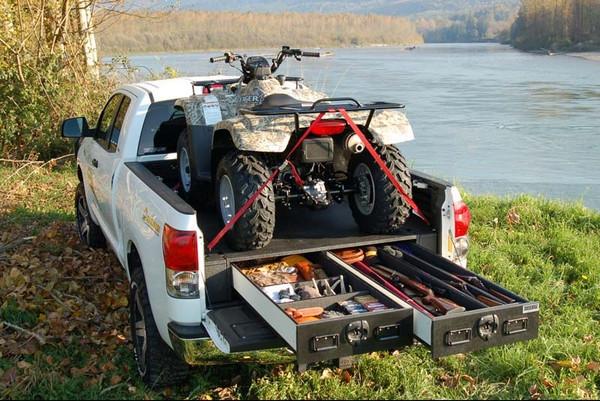 ATV and Power Sports Drawer Storage System