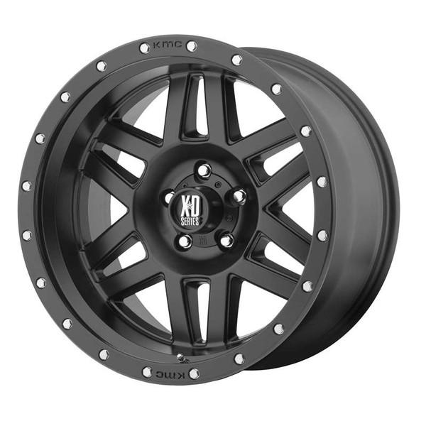 XD Series Machete Matte Black Wheels