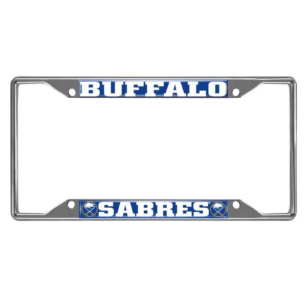 FanMats Buffalo Sabres NHL License Plate Frame