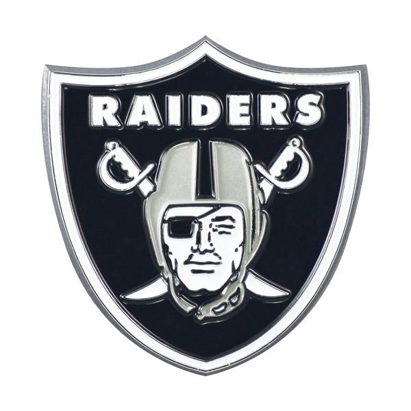 FanMats Las Vegas Raiders NFL Color Emblem