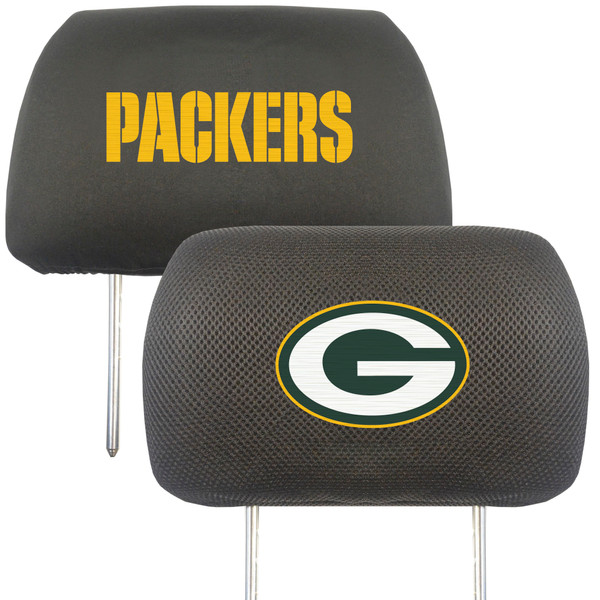 FanMats Green Bay Packers NFL Head Rest Cover