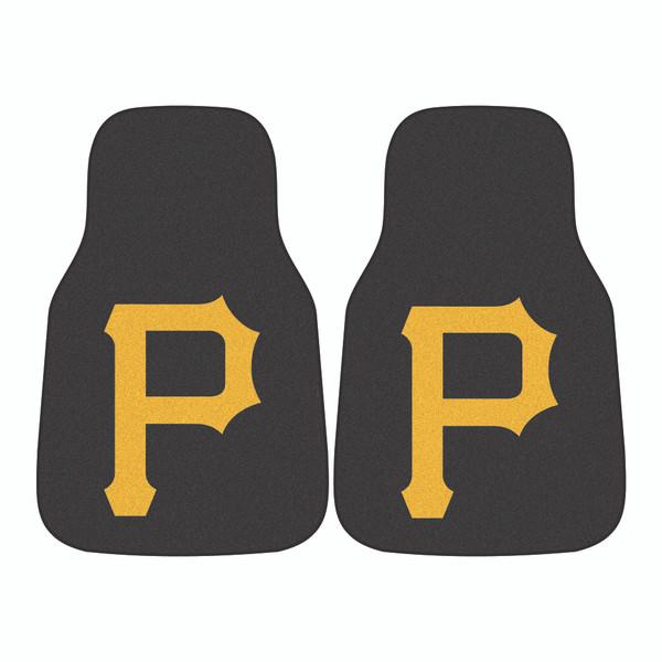 Pittsburgh Pirates MLB 2pc Carpeted Car Mats