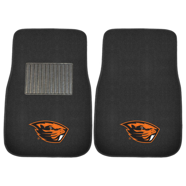 FanMats Oregon State 2pc Embroidered Car Mats