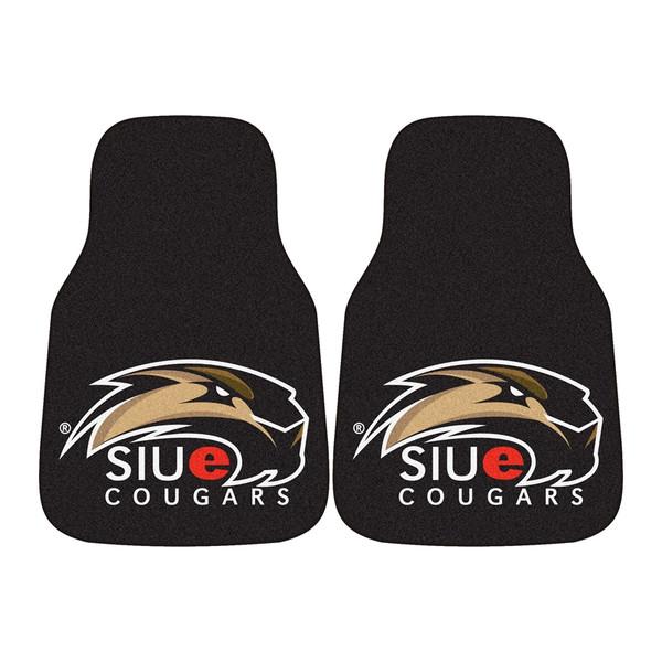 SIU-Edwardsville 2pc Carpeted Car Mats