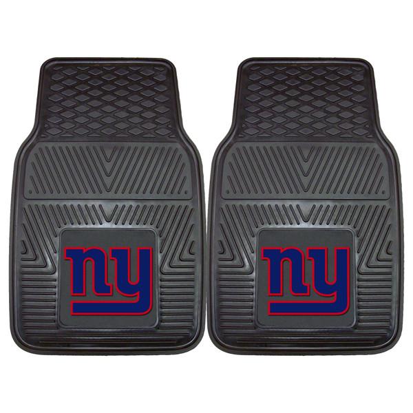 New York Giants NFL 2pc Vinyl Car Mats