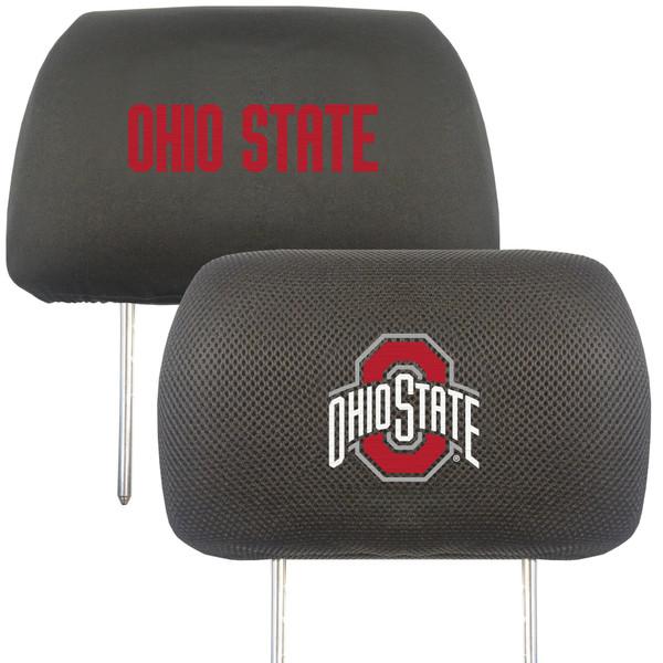 Ohio State Head Rest Cover