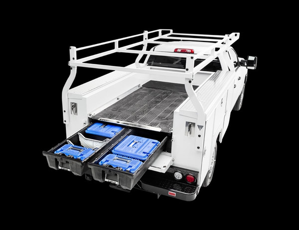 Floor Mounted Drawer Storage System for Service Bodies