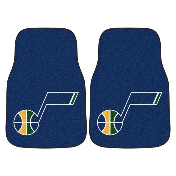 FanMats Utah Jazz NBA 2pc Carpeted Car Mats