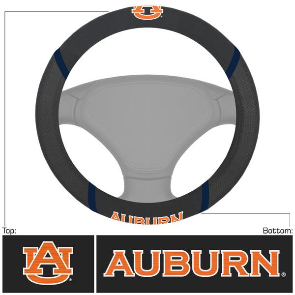 FanMats Auburn Steering Wheel Cover
