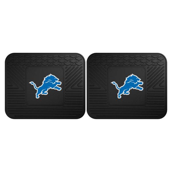 FanMats Detroit Lions NFL 2pc Utility Mat
