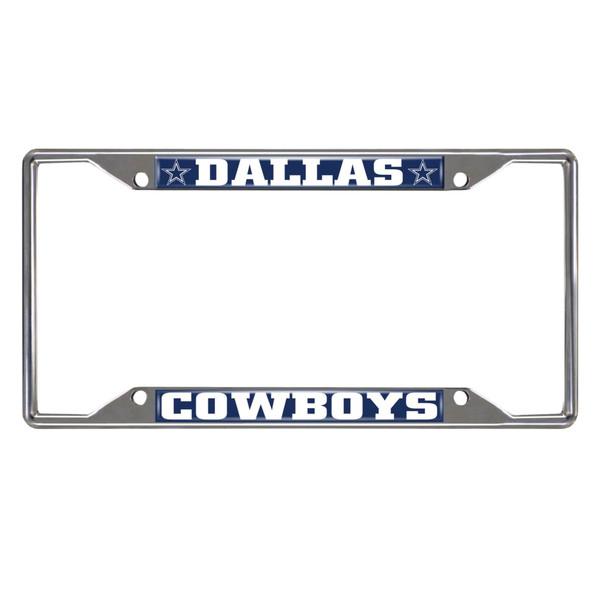 FanMats Dallas Cowboys NFL License Plate Frame