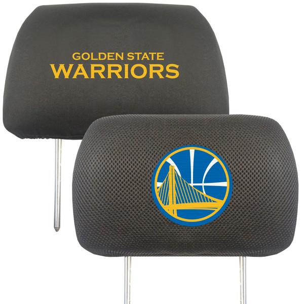 Golden State Warriors NBA Head Rest Cover