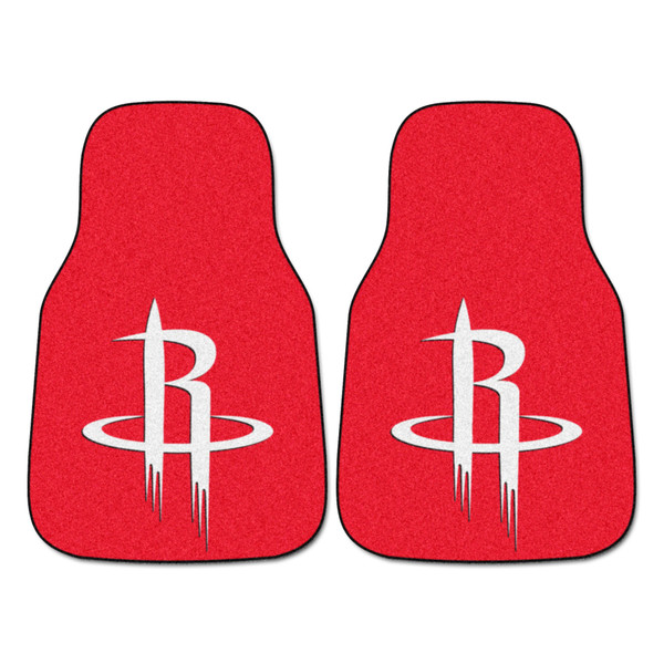 FanMats Houston Rockets NBA 2pc Carpeted Car Mats