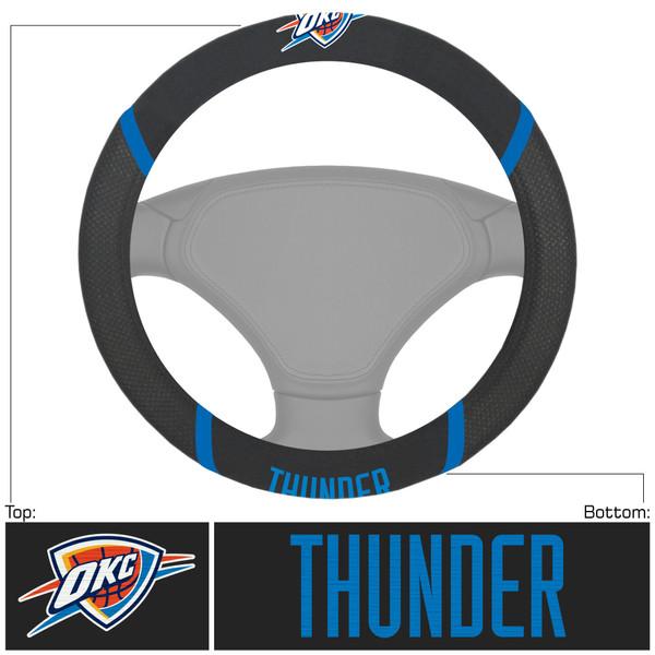 Oklahoma City Thunder NBA Steering Wheel Cover
