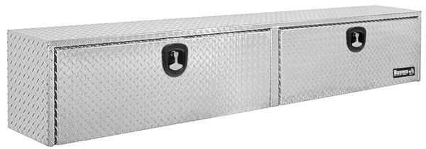 Diamond Tread Aluminum Topsider Truck Box