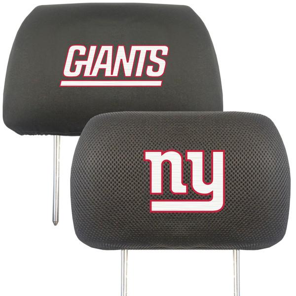 New York Giants NFL Head Rest Cover