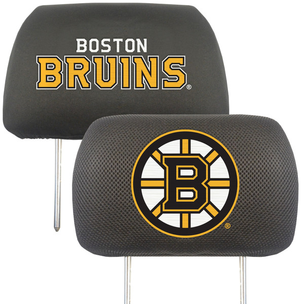 Boston Bruins NHL Head Rest Cover