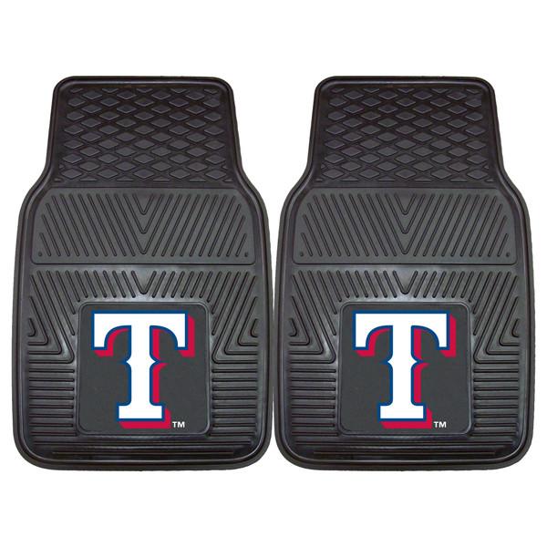 FanMats Texas Rangers MLB 2pc Vinyl Car Mats