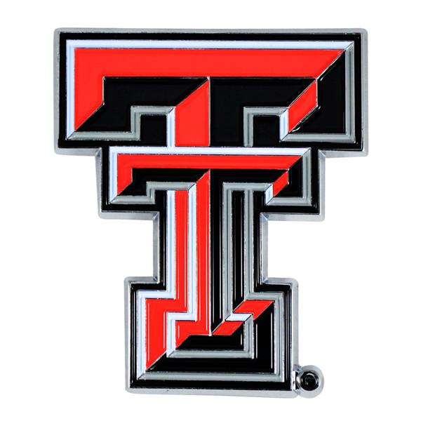 FanMats Texas Tech University Color Emblem