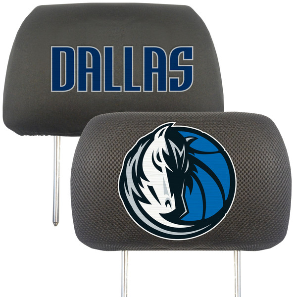 FanMats Dallas Mavericks NBA Head Rest Cover