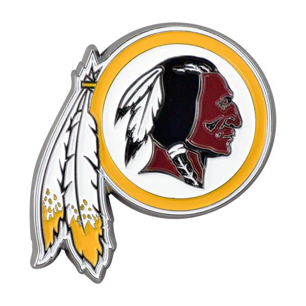 FanMats Washington Redskins NFL Color Emblem